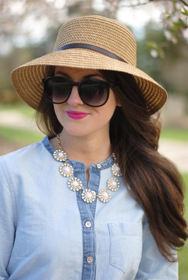 Sun hat & sunnies