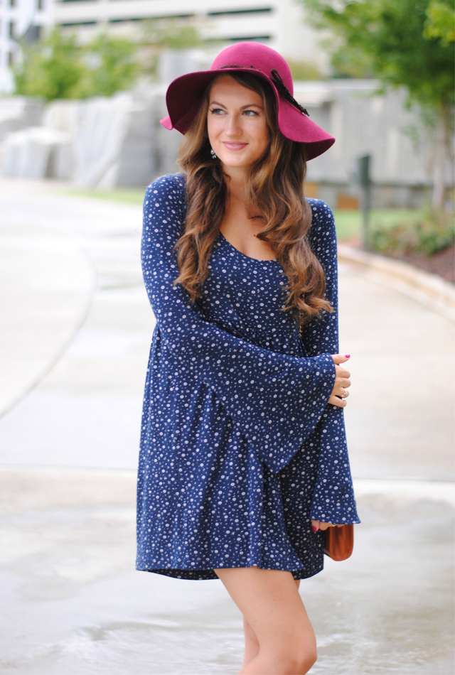 Floppy felt hats are perfect for fall