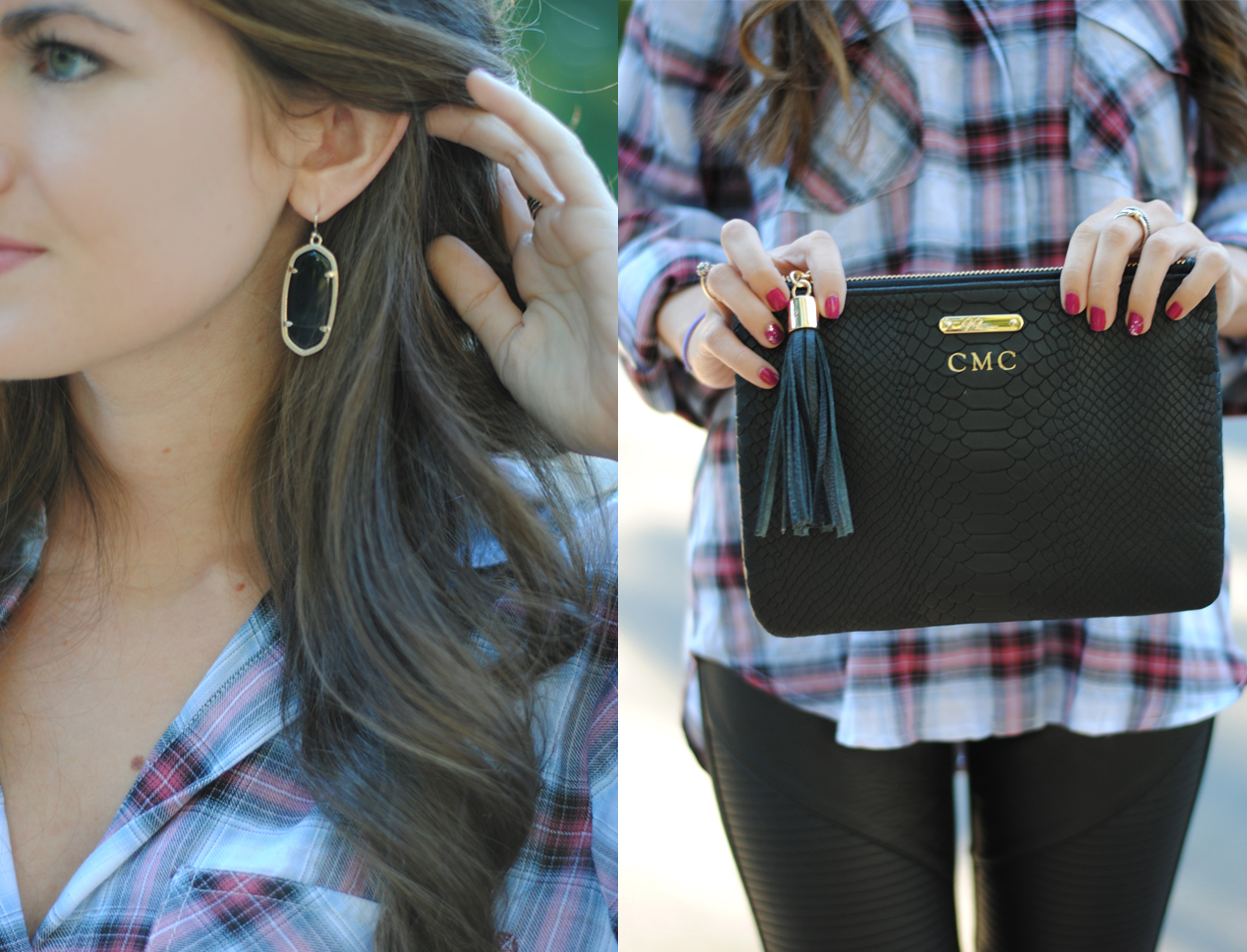 Enter to win these Kendra Scott earrings and GiGi New York clutch!