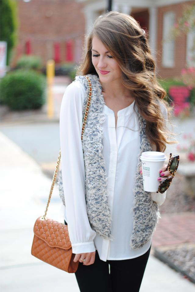 Love this textured vest