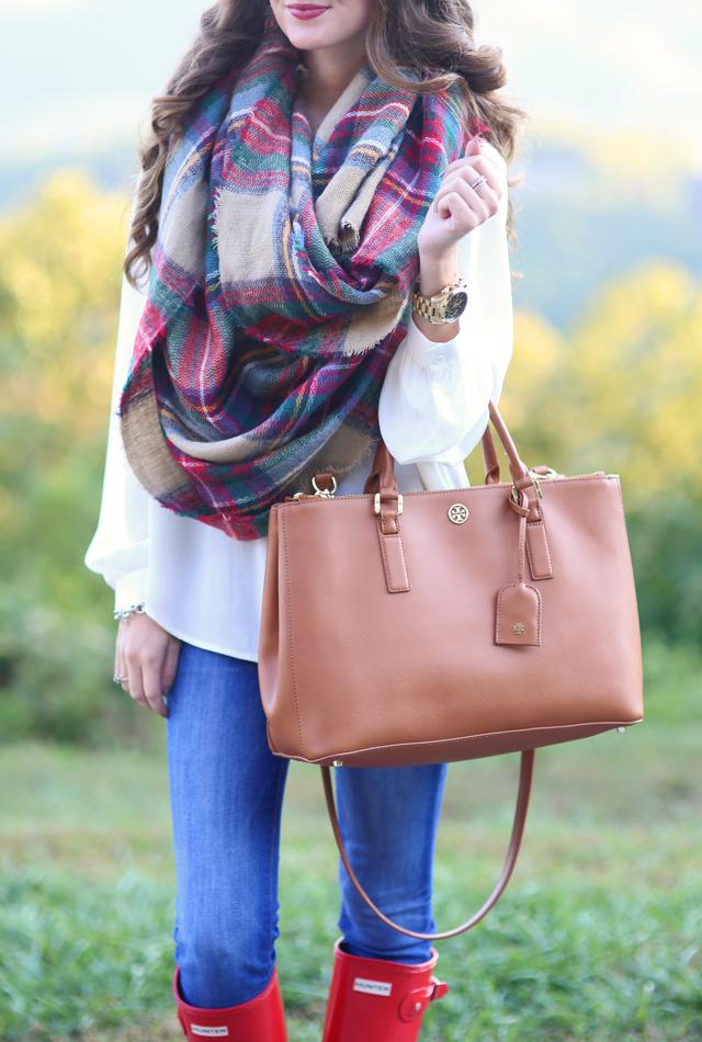 oversized blanket scarf… cute!