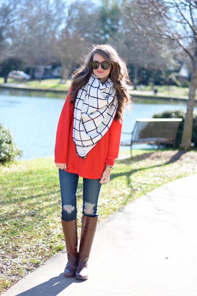 Cutest blanket scarf ever