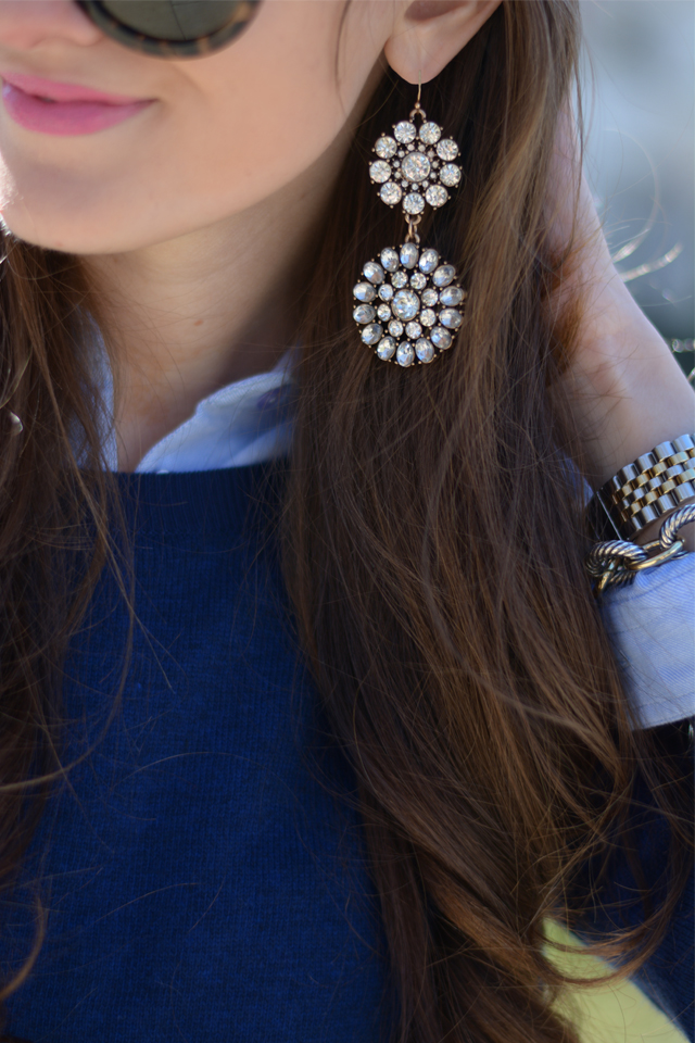 These crystal earrings are gorgeous!
