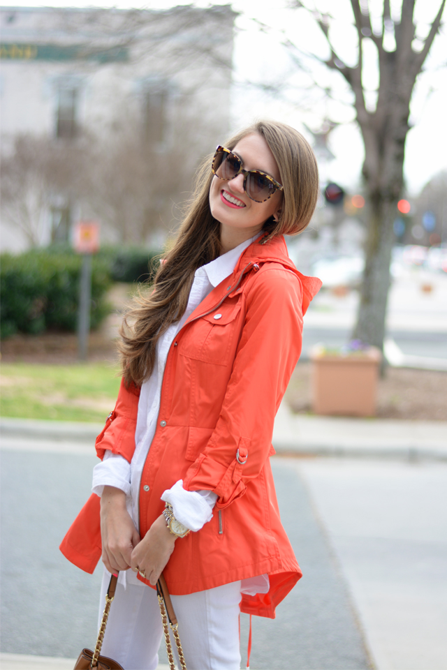 Cute spring look for a rainy day