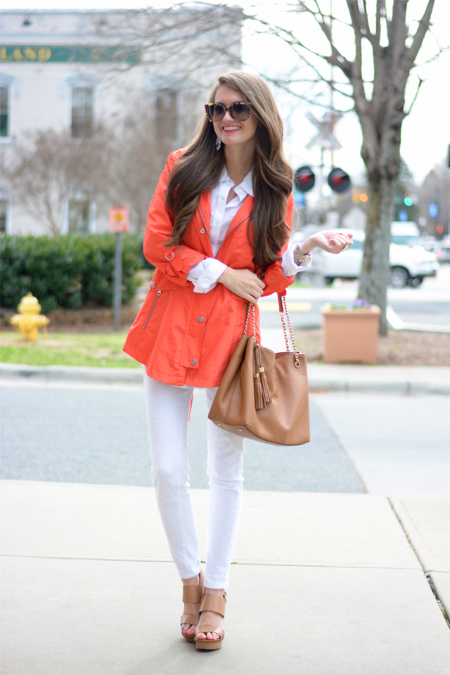 Love the bright color of this jacket