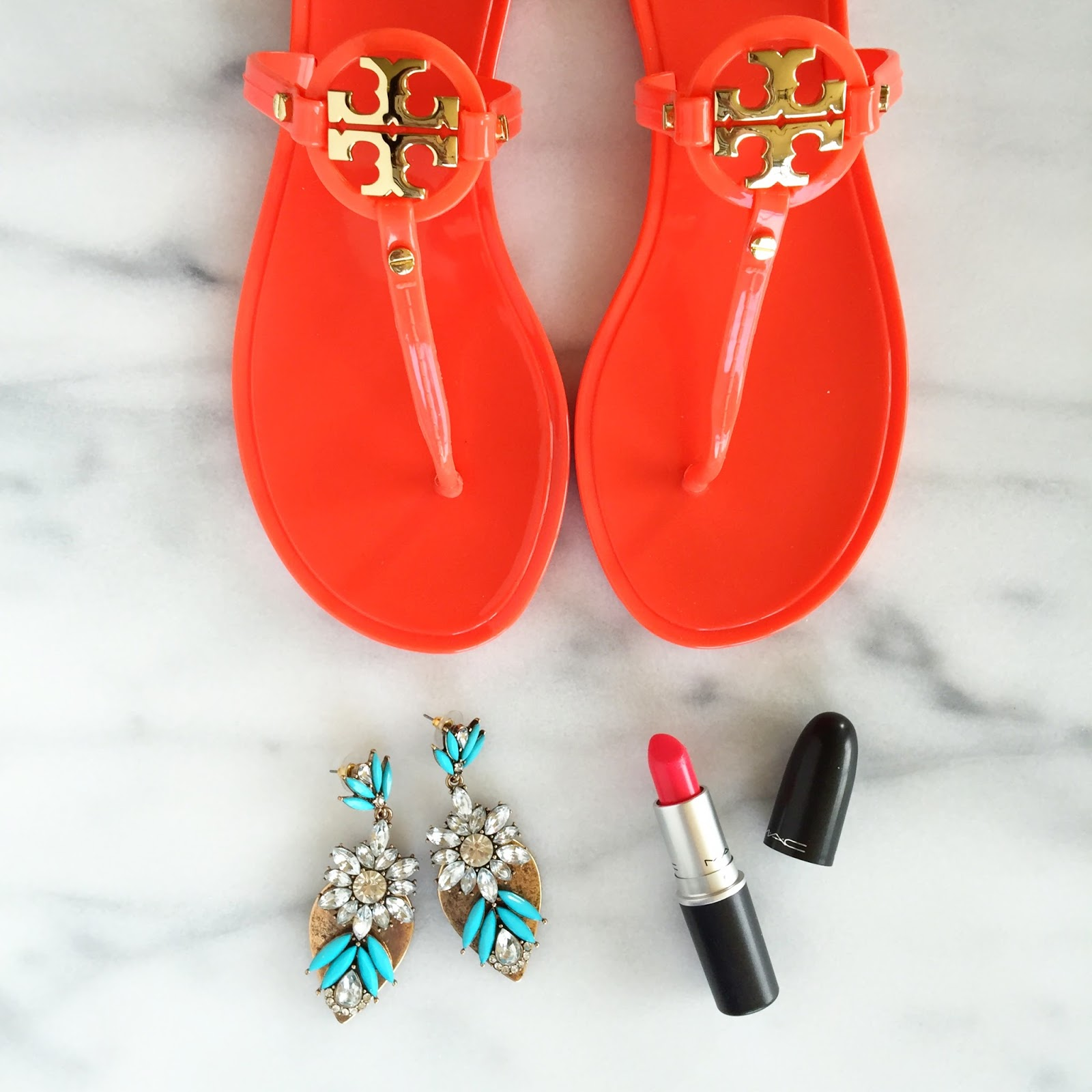 Love the Tory Burch sandals