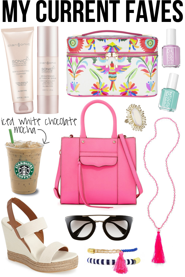 Favorite products for spring/summer
