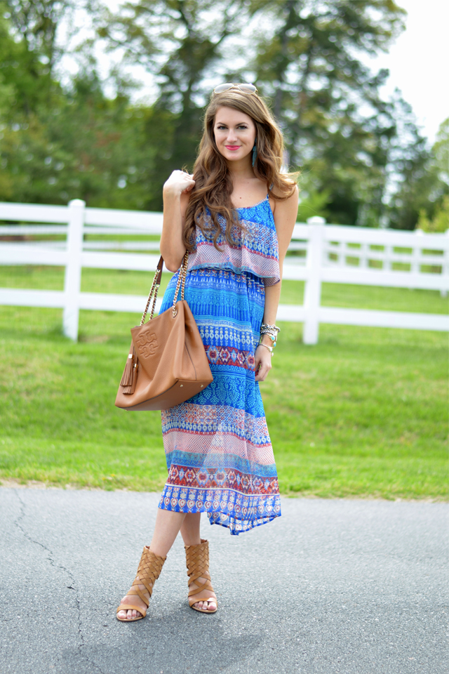 Perfect midi dress for spring