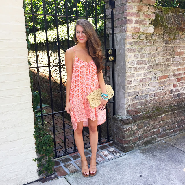 patterned dress, perfect for summer