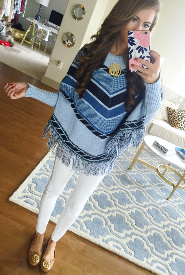 This poncho is adorable