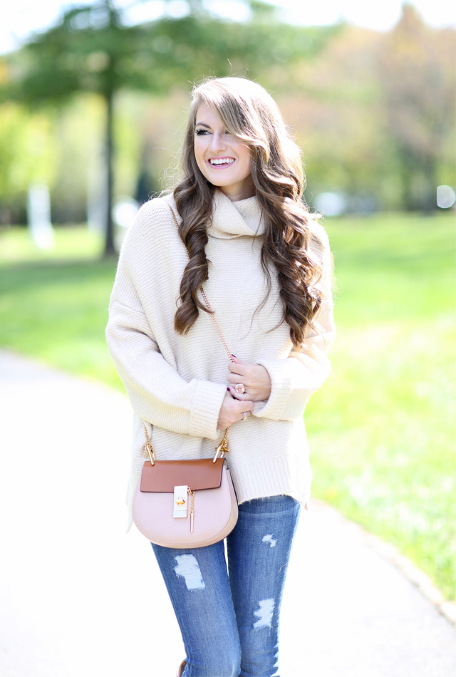 Love this turtleneck for fall