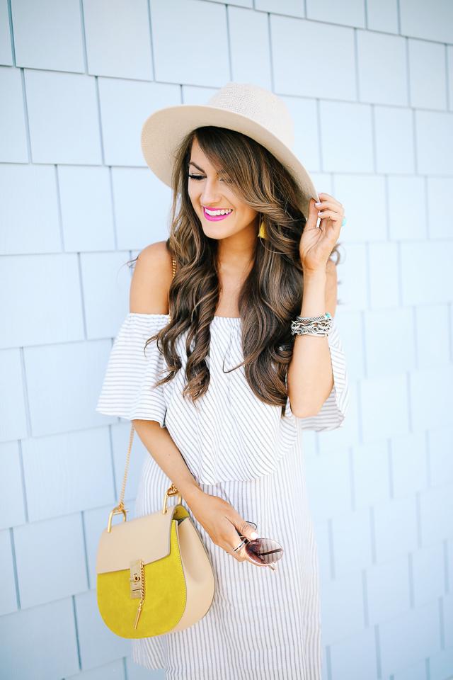 love this off shoulder dress