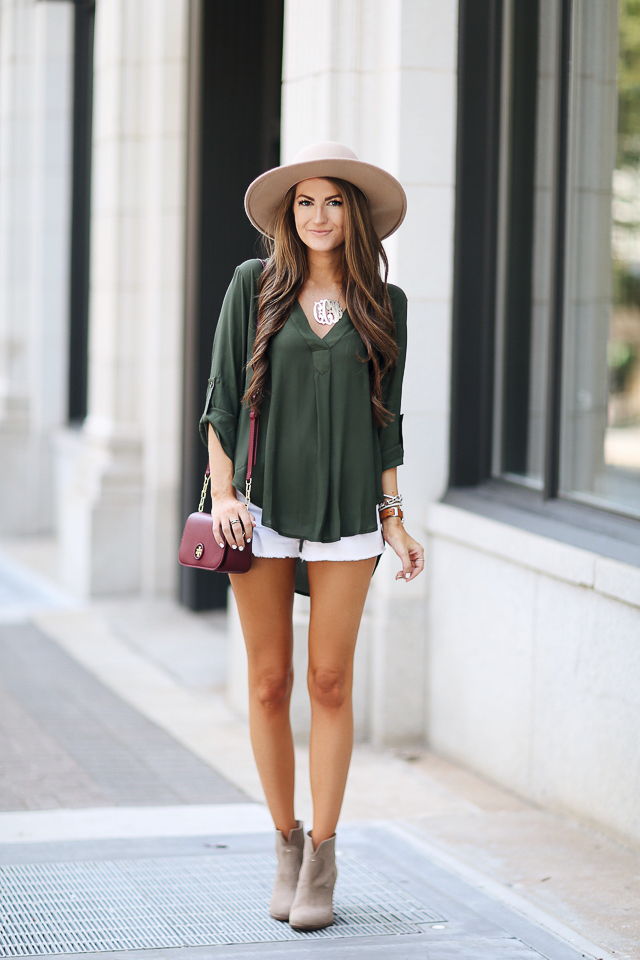 cute summer outfit with booties