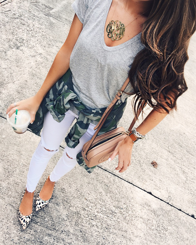 How to style a basic tee - this one is only $15!
