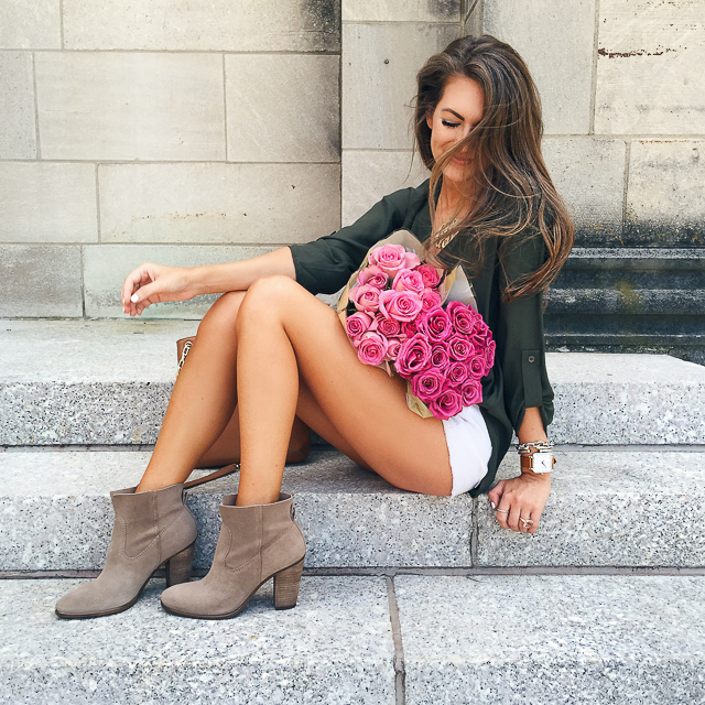 LOVE these Vince Camuto booties!