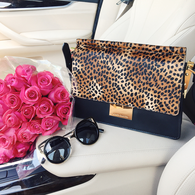 Vince Camuto Abril leopard bag from the #nsale