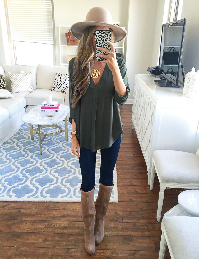 Nordstrom Anniversary Sale Lush blouse
